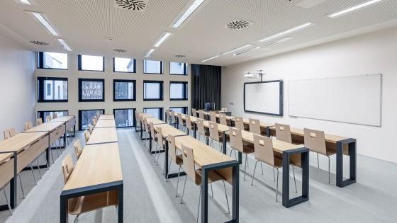 dostavba výzkumně výukového objektu PdF UP Olomouc třída