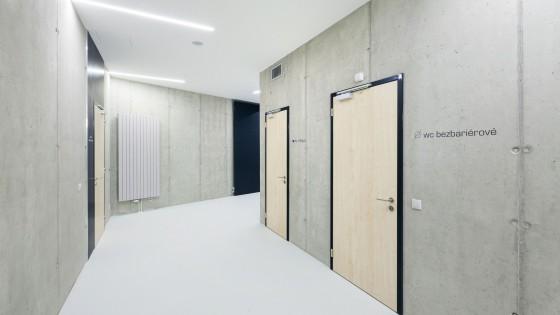 dostavba objektu Slovanského gymnázia v Olomouci