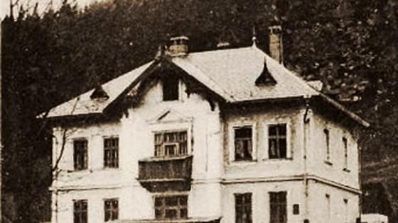 Malá Morávka - historické foto
