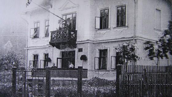 vila Malá Morávka - historické foto
