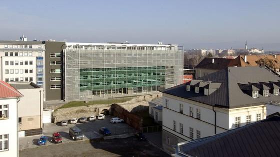 rekonstrukce Krajského soudu Ostrava, pracoviště Olomouc
