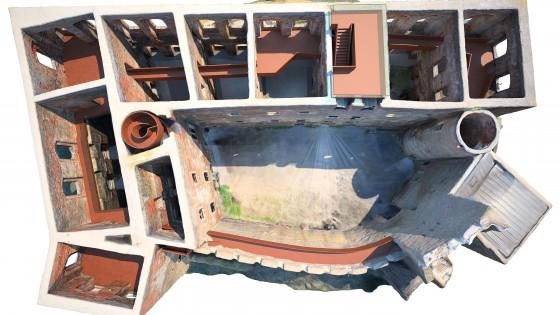 rekonstrukce a nové zastřešení paláce hradu Helfštýna