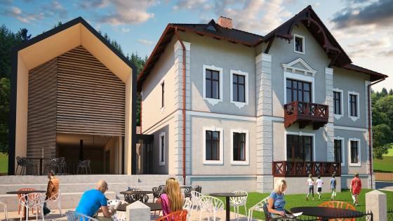 rekonstrukce a dostavba vily Malá Morávka