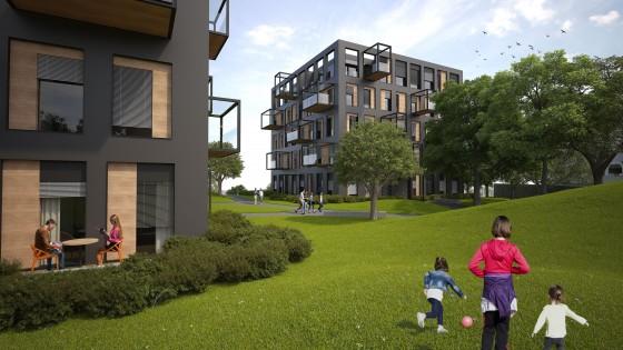 bytové domy rezidence Trlicova Nový Jičín