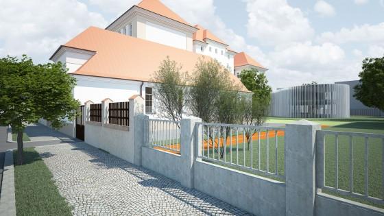 přístavba ZŠ Hálkova Olomouc