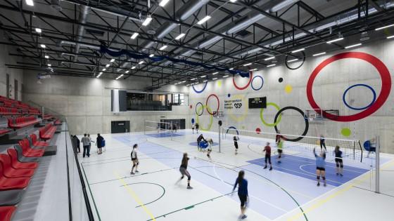 NSC Národní sportovní centrum v Prostějově hrací plocha
