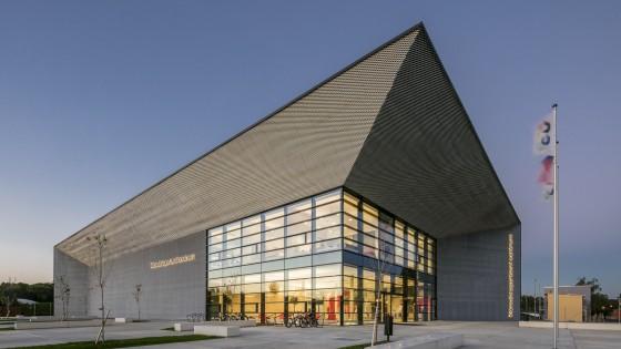 NSC Národní sportovní centrum v Prostějově nároží