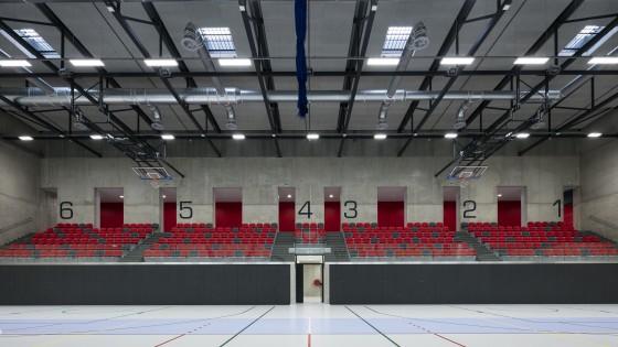 NSC Národní sportovní centrum v Prostějově tribuna