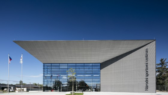 NSC Národní sportovní centrum v Prostějově z jihu