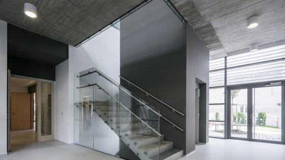 Mateřská škola Nádražní ve Šternberku schodiště