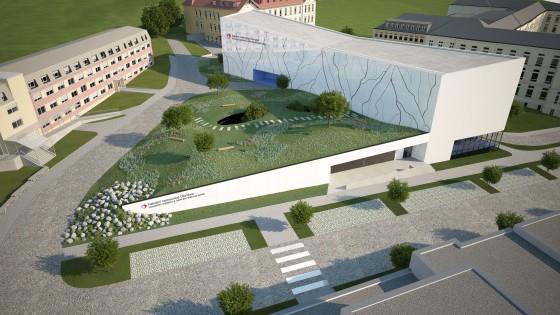 transfúzní stanice a centrální tkáňová banka - studie pro fakultní nemocnici v Olomouci