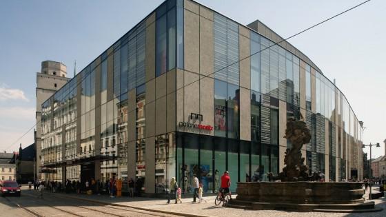 Olomouc obchodní dům PRIOR- Galerie Moritz v Olomouci