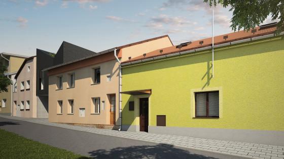 rodinný dům ve Slavoníně u Olomouce