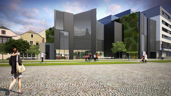 Třída Svobody - návrh nové polyfunkční stavby