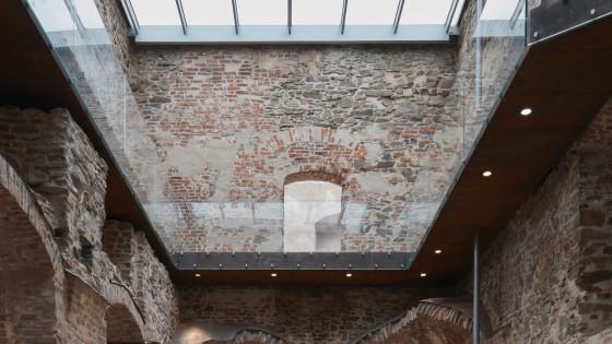 hrad Helfštýn - rytířský sál