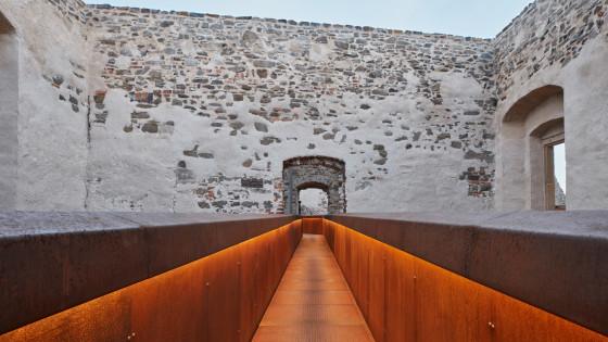 hrad Helfštýn - lávky